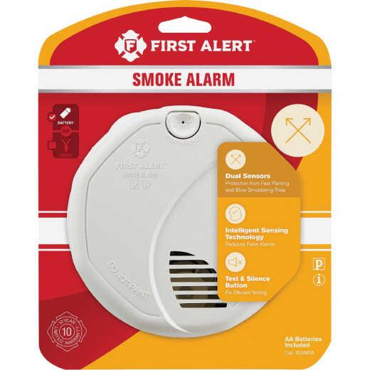 First Alert Battery Operated 3V Photoelectric/Ionization Dual-Sensor Smoke & Fire Alarm